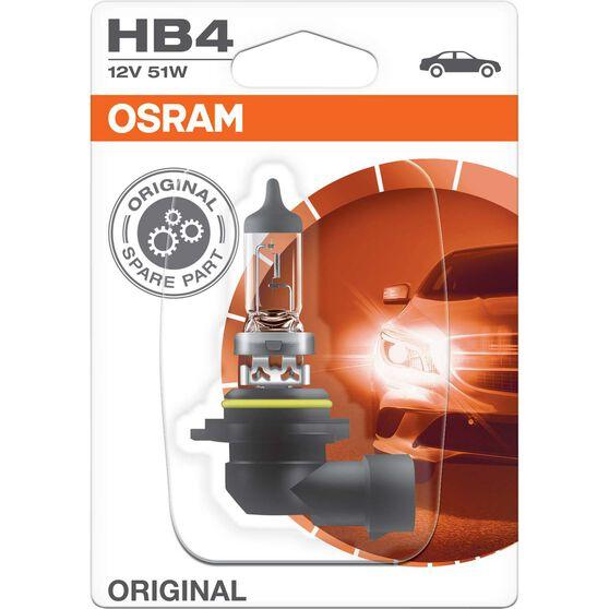 Osram Headlight Globe - HB4, 12V, 51W, , scaau_hi-res