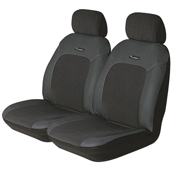 Urban Seat Covers - Grey, Adjustable Headrests, Size 30, Front Pair, Airbag Compatible, , scaau_hi-res