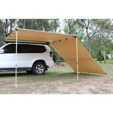Ridge Ryder Premium 4WD Awning - Side Wall 2.5 x 2.9m, , scaau_hi-res
