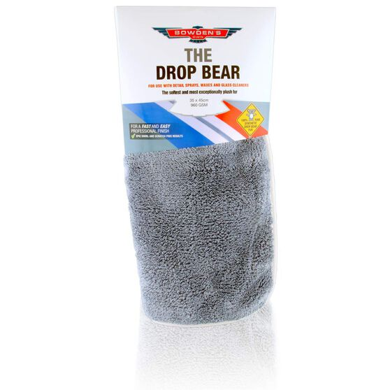 Bowden's Own Drop Bear Microfibre Cloth, , scaau_hi-res