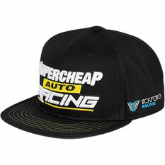 Supercheap Auto Racing 2018 Flat Peak Cap - One Size, , scaau_hi-res