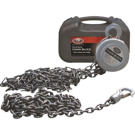 SCA Block and Tackle - 3m Chain, 500kg, , scaau_hi-res