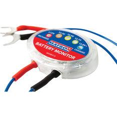 Matson 12V LED Battery Monitor, , scaau_hi-res