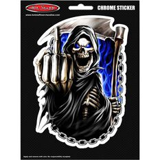 Hot Stuff Sticker - Reaper Finger Chains, Vinyl, , scaau_hi-res