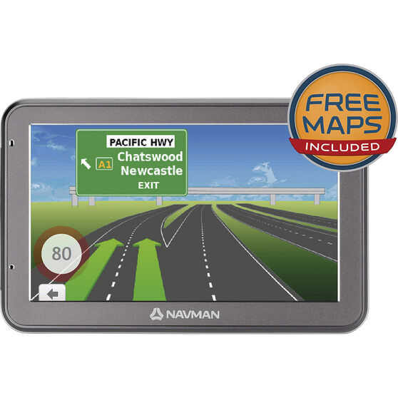 Navman GPS Navigation Unit - 5 Inch, EZY455MT, , scaau_hi-res