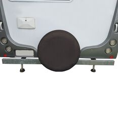 SCA Caravan Spare Wheel Cover - 27 inch, Black, , scaau_hi-res