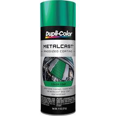 Metalcast Aerosol Paint - Enamel, Green Anodised, 311g, , scaau_hi-res
