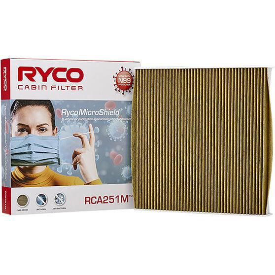 Ryco Cabin Air Filter N99 MicroShield RCA251M, , scaau_hi-res