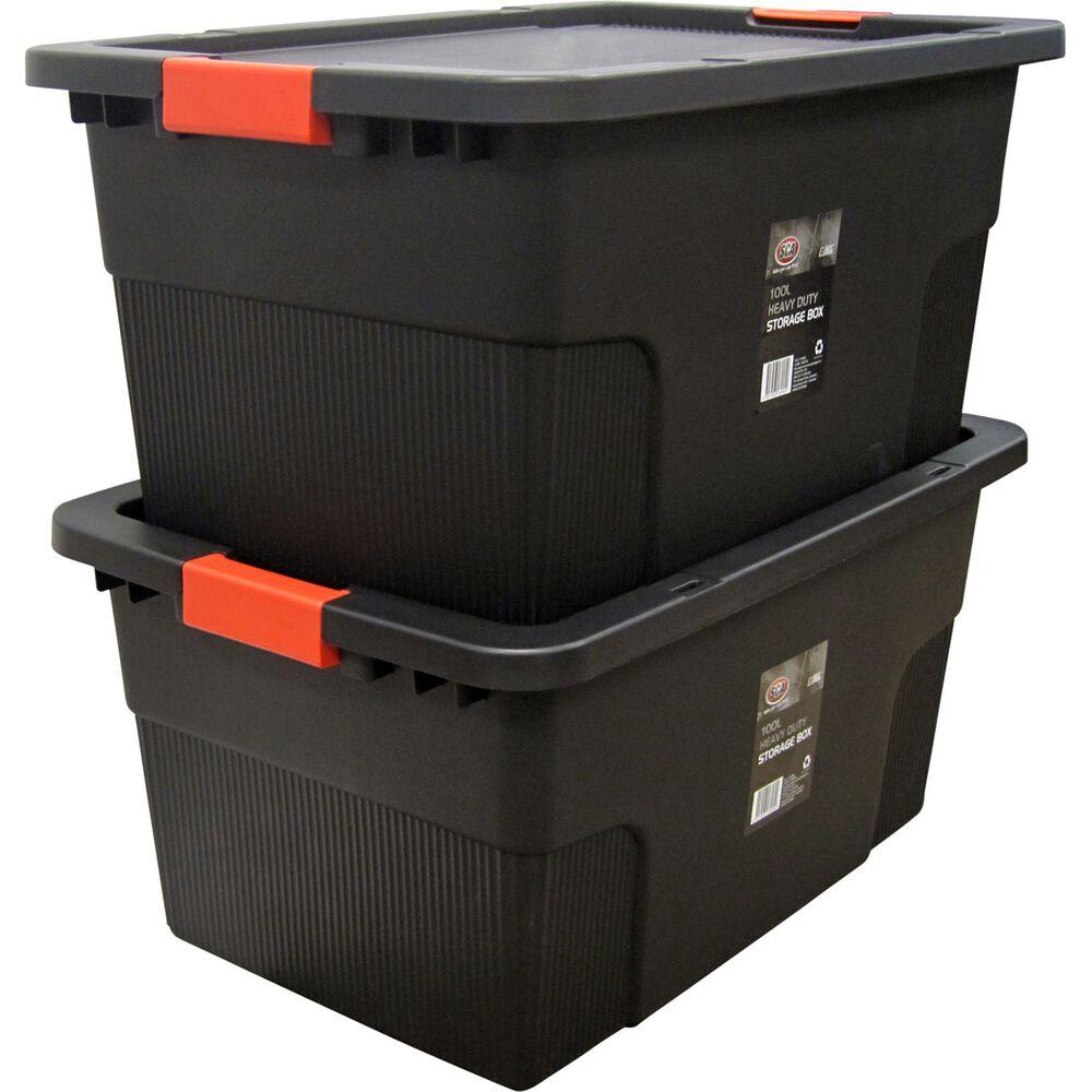 SCA Heavy Duty Storage Box - 100 Litre | Supercheap Auto