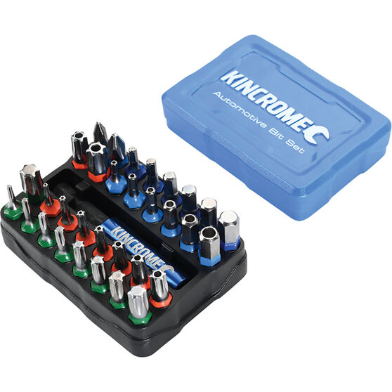Kincrome Impact Screwdriver Bit Set 33 Piece, , scaau_hi-res