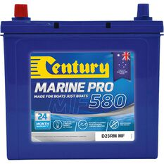 Century MP580/DR23RM MF Marine Battery 580 CCA, , scaau_hi-res