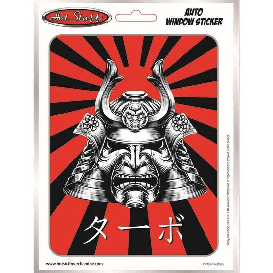 Sticker JDM Samurai Mask SH2037, , scaau_hi-res