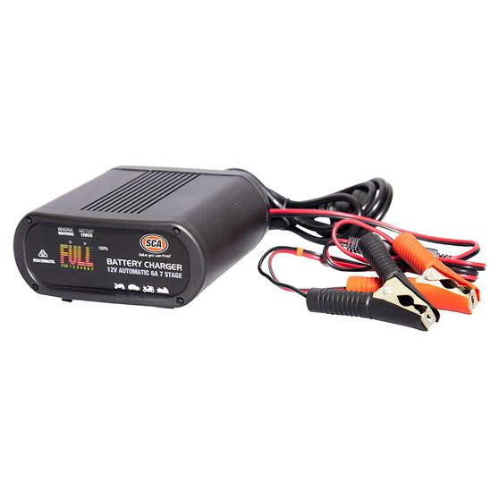 SCA 12V 6 Amp 7 Stage Battery Charger, , scaau_hi-res
