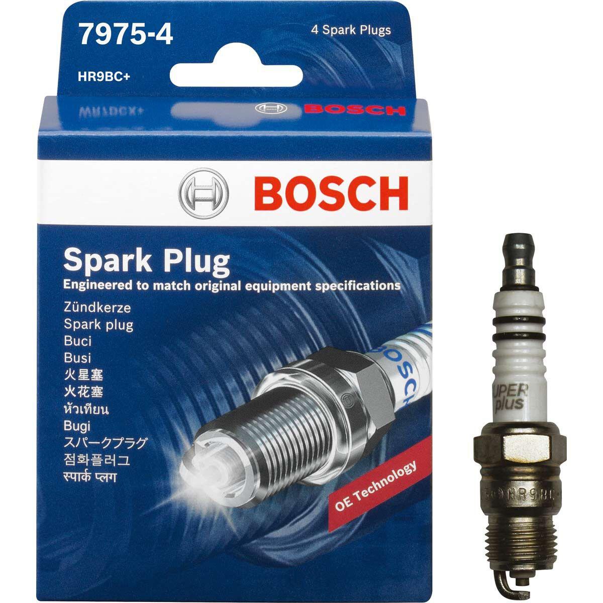 SET OF 10 BOSCH 7975 COPPER SPARK PLUGS