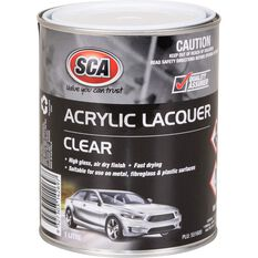 SCA Acrylic Paint - Clear , 1 Litre, , scaau_hi-res