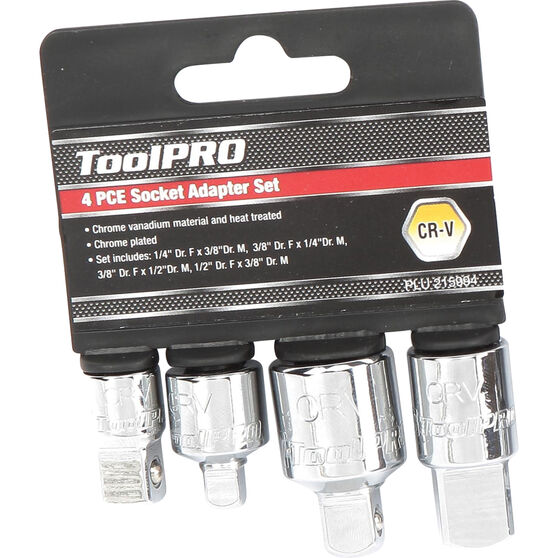 ToolPRO Socket Adaptor 4 Piece, , scaau_hi-res