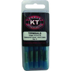 KT Cable Waterproof Butt Splice - Blue, 5 Pack, , scaau_hi-res
