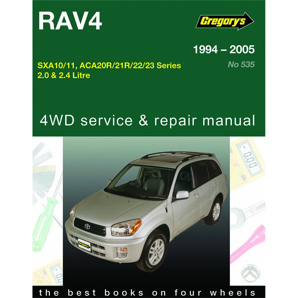 car manual for toyota rav4 1994 2005 535 supercheap auto rh supercheapauto com au Helm Auto Manuals Auto Manual Switch