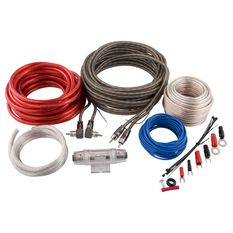 SCA Amplifier Wiring Kit - 2 Channel, 8G, , scaau_hi-res