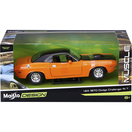 Die Cast, Dodge Challenger - 1:24 scale model, , scaau_hi-res