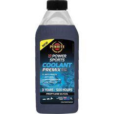 Penrite 10 Tenths Power Sports Coolant Premix 1 Litre, , scaau_hi-res