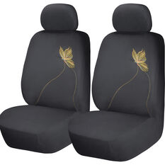 SCA Butterfly Seat Covers - Yellow/Black Adjustable Headrests Size 30 Airbag Compatible, , scaau_hi-res