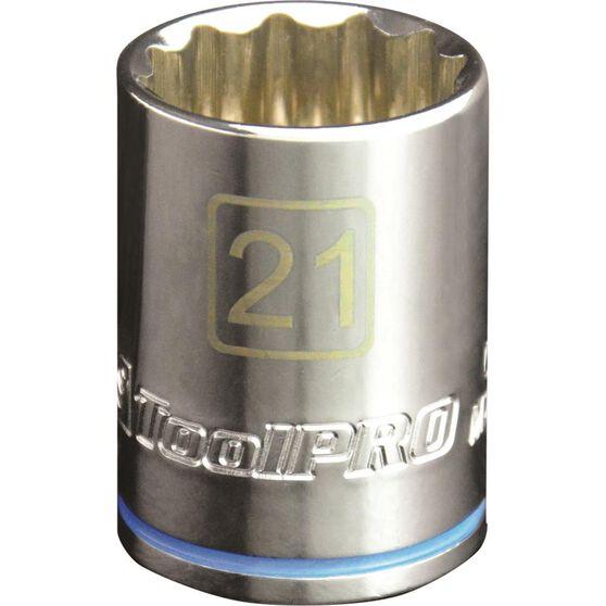 ToolPRO Single Socket - 1 / 2 inch Drive, 21mm, , scaau_hi-res