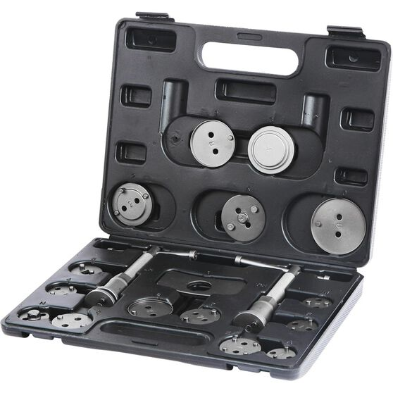 ToolPRO Brake Piston Wind Back Tool Kit - 18 Piece, , scaau_hi-res
