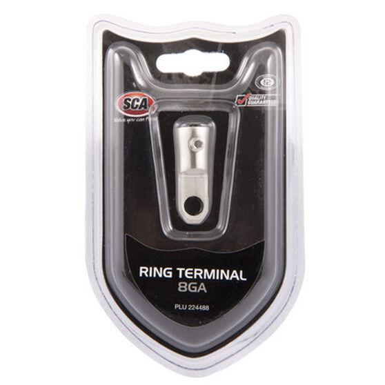 SCA Ring Terminal - 8G, , scaau_hi-res