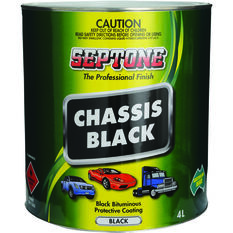 Septone Chassis Paint - Black, 4 Litre, , scaau_hi-res