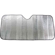 Small Bubble Sunshade - Silver, Accordion, Front, , scaau_hi-res