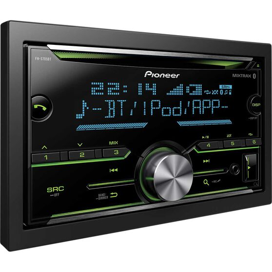 Pioneer Double DIN CD / Digital Media Player with Bluetooth - FH-S705BT, , scaau_hi-res