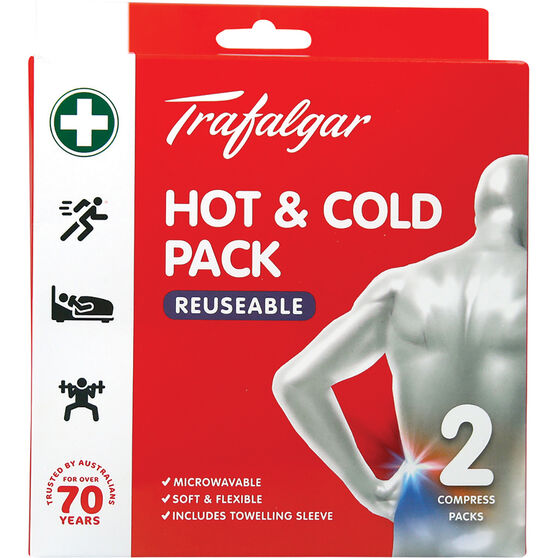 Trafalgar Hot & Cold Pack Resuable 2 Pack, , scaau_hi-res