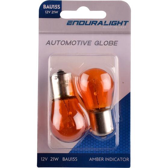 Automotive Globe - Indicator, Amber, 12V, 21W, 2 Pack, , scaau_hi-res
