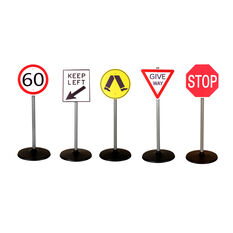 Road Sign Set, , scaau_hi-res
