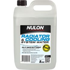 Nulon Radiator Cooling System Water - 5 Litre, , scaau_hi-res