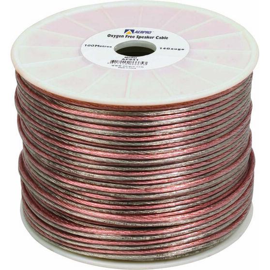 Aerpro Speaker Cable - Clear, 14G, , scaau_hi-res