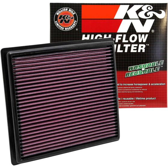 K&N Air Filter 33-2443 (Interchangeable with A1838), , scaau_hi-res