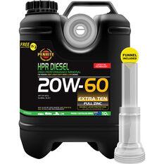 Penrite HPR Diesel Engine Oil - 20W-60 10 Litre, , scaau_hi-res
