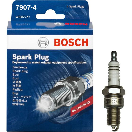 Bosch Spark Plug 7907-4 4 Pack, , scaau_hi-res