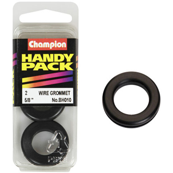 Champion Wiring Grommet - 5 / 8inch, BH010, Handy Pack, , scaau_hi-res