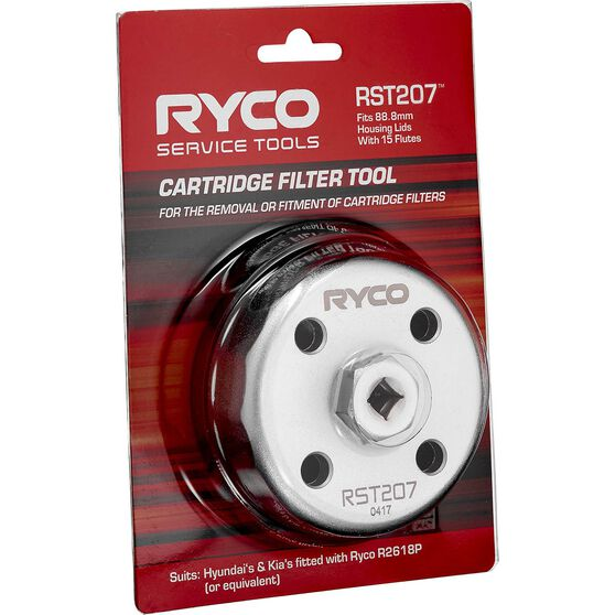 Ryco Oil Filter Cup Wrench - RST207, , scaau_hi-res
