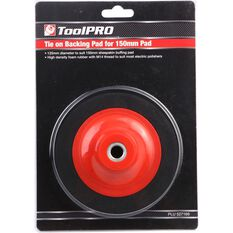 Backing Pad - Tie on, 150mm, M14 Thread, , scaau_hi-res