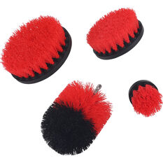 SCA 4PC DRILL BRUSH SET, , scaau_hi-res