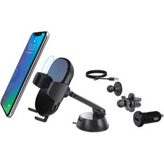 QI CERTIFIED WIRELESS CHARGING SMARTPHONE HOLDER, , scaau_hi-res