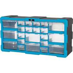 22 Drawer Organiser - Blue, , scaau_hi-res