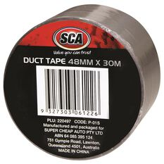 Duct Tape - Silver, 48mm x 30m, , scaau_hi-res
