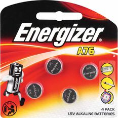 Specialty Alkaline Battery - A76, 4 Pack, , scaau_hi-res
