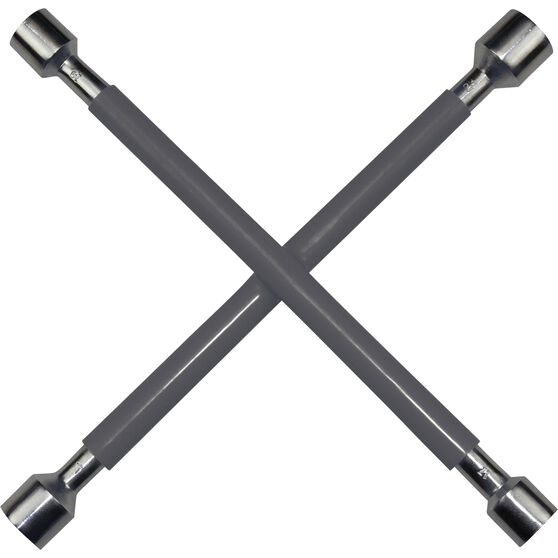 SCA Wheel Brace Rubber Grip Metric Grey, , scaau_hi-res