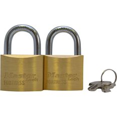 Master Lock Fortress Padlock - 40mm, 2 Pack, , scaau_hi-res